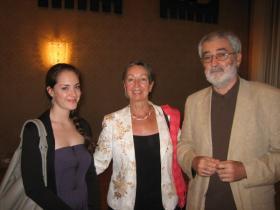 Soshana's granddaughter Alina, Eva Krömer and Gerhard Krömer