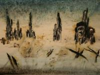 Sarajevo - Two Dead People (1993) | Oil on Canvas | 90 x 130 cm