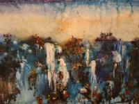 Iguasu (1964) | Oil on Canvas | 80 x 120 cm