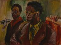 Two Black Youths (1944) | Oil on Canvas | 35 x 44 cm