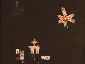 Mexican Night (1969) | Oil on Canvas | 73 x 50 cm