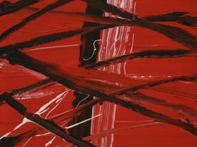 Memories of 9/11 Nr. II. (2008) | Acryl on Canvas | 60 x 40 cm