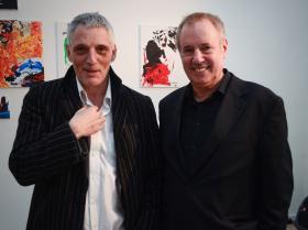 Frederic Lion (Theater Nestroyhof Hamakom) and Amos Schueller