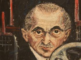 Old Man (1949) | Oil on Canvas | 61 x 50 cm