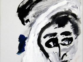 Curious Look (2011)   Acryl on Canvas   30cm x 40cm