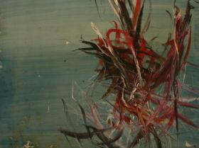 Sealife VIII. (1966) | Oil on Canvas | 162 x 96 cm