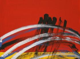 Future IV. (2008) | Acryl on Canvas | 80 x 60 cm