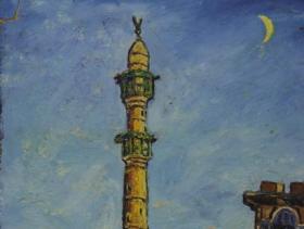 Old Jaffa II. (1950) | Oil on Carton | 41 x 61 cm