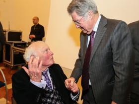 George Newman & President Heinz Fischer