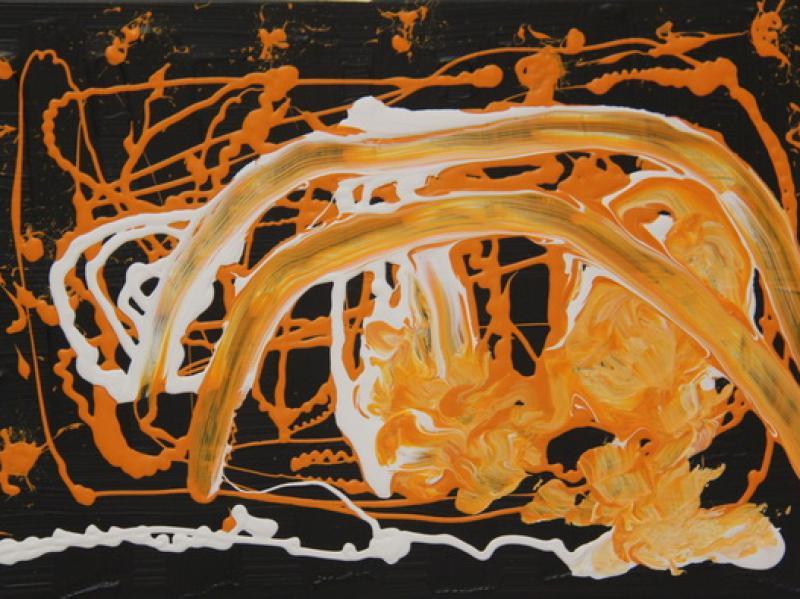 Milky Way (2012) | Acryl on Canvas | 40cm x 60cm