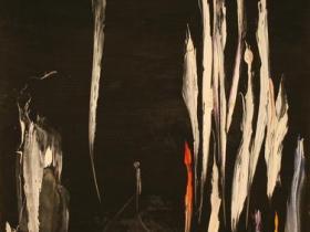 N.Y. by Night (1964) | Oil on Canvas | 116 x 73 cm