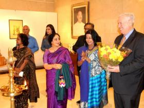 Sangeeta Gupta, Sharon Lowen, Shovana Traxl Narayan & A. Schueller | © Mirka Heinz