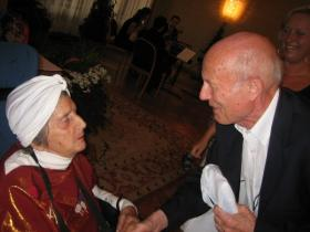 Soshana and Professor Peter Baum