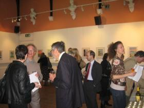 Guests at opening