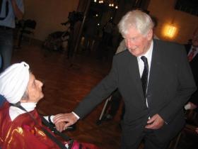 Soshana and Ambassador Dr. Wolte