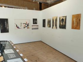 exhibition space in the Centro Giacometti