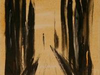 Alone IV. (1994) | Acryl on Canvas | 75 x 50 cm