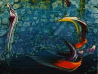 Stormy Sea IV. (1990) | Acryl on Canvas | 80 x 60 cm