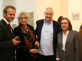 Josef Neumayr, Angelica Bäumer, Amos Schueller, Dr. Claudia Rochel-Laurich