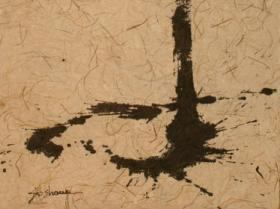 Without Title (1957) | Ink on Paper | 98 x 62 cm