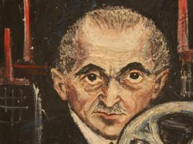 Old Man (1949) | Oil on Canvas | 61 x 50 cm