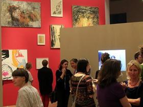 Exhibition guests