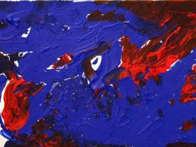 The world from above (2012) | Acryl on Canvas | 60cm x 40cm