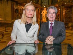 Dr. Johanna Rachinger & President Heinz Fischer
