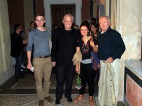Julian Stockinger, Amos Schueller, Cana Bilir-Meier and Hans-Peter Meier