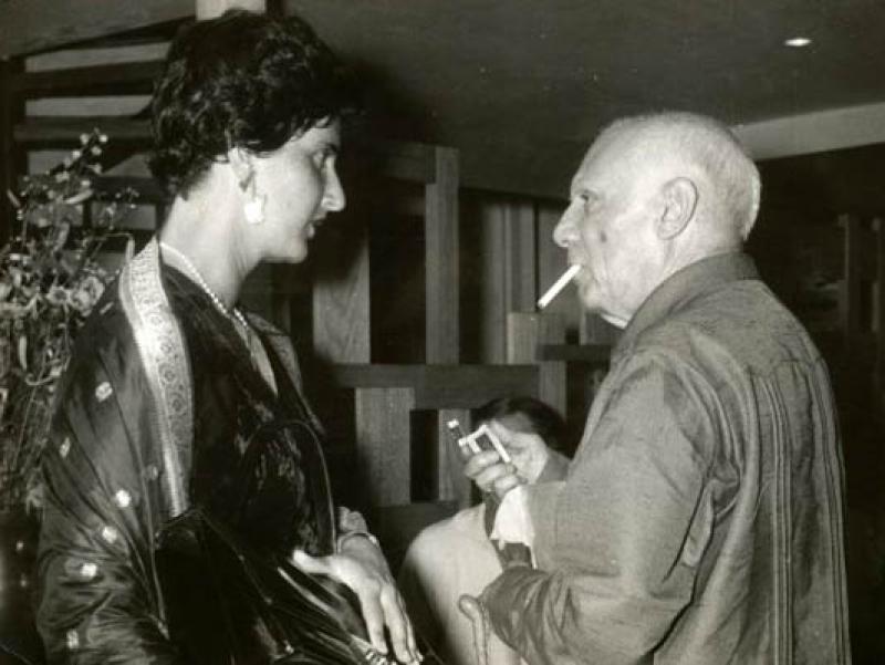 Soshana & PicassoAntibes | 1962