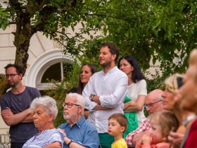 Vernissage at the Centro Giacometti