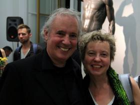 Amos Schueller and Prof. Martina Pippal