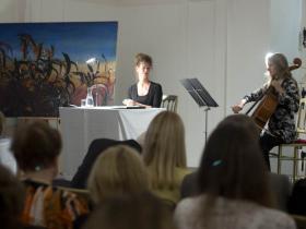 Lesung: Hannah Hohloch, Cello: Maria Kainz